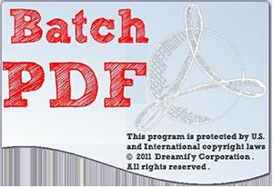 Batch PDF Pro v2.1.0 - Eng