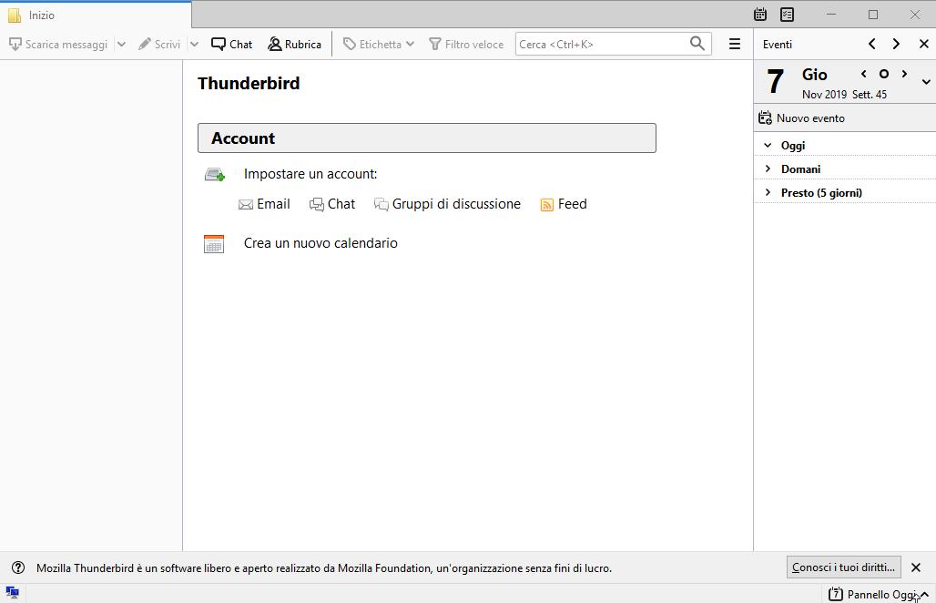 [PORTABLE] Mozilla Thunderbird 68.5.0 Portable - ITA