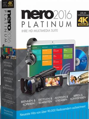 Nero 2016 Platinum v17.0.02000 + Content Pack - Ita