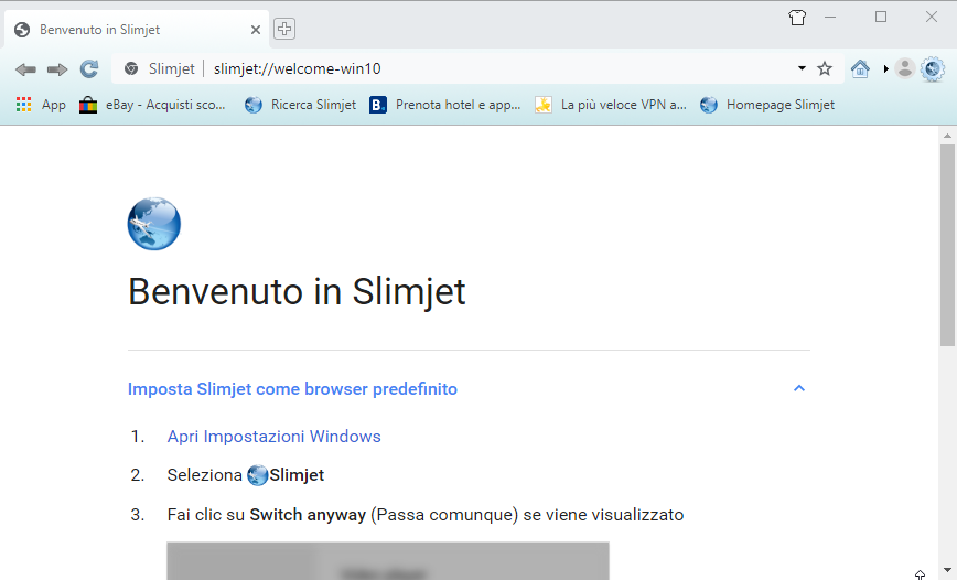 [PORTABLE] Slimjet 25.0.4.0 Portable - ITA