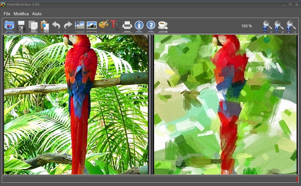 FotoSketcher 3.50 - ITA