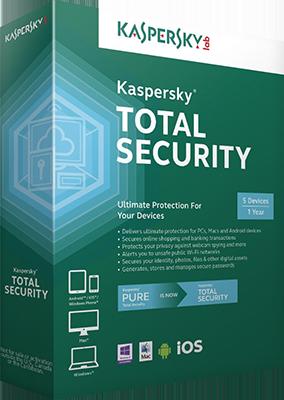 Kaspersky Total Security 2017 v17.0.0.611.0.213.0 DOWNLOAD ITA
