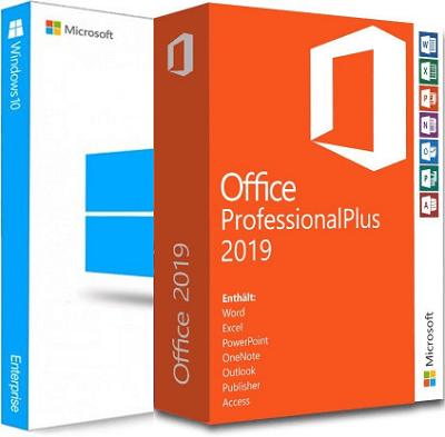 Microsoft Windows 10 Enterprise 21H1 + Office 2019 Professional Plus - Maggio 2021 - ITA