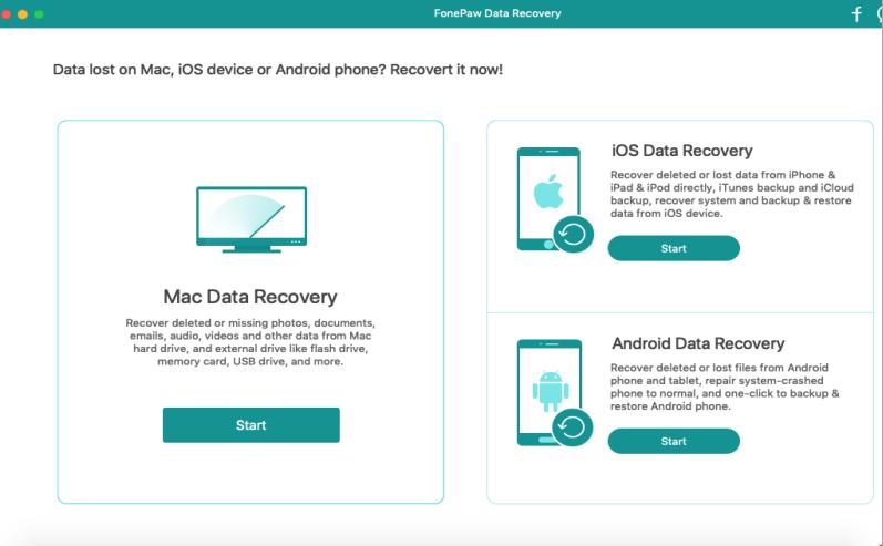 [MAC] FonePaw Data Recovery 2.0.0 macOS - ENG