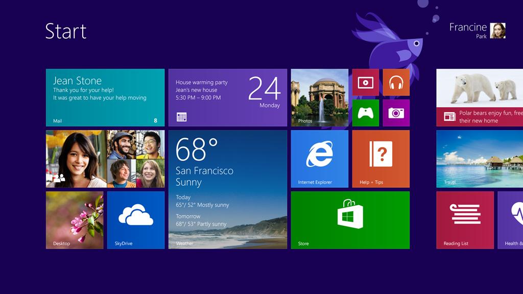 Microsoft Windows 8.1 Pro - Novembre 2018 - ITA