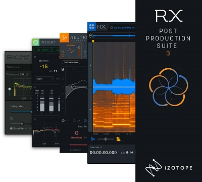 iZotope RX 7 Post Production Suite v3.02 - ENG
