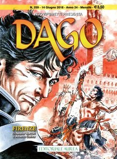 Dago Nuovi Fumetti Anno 24 n. 259 - Firenze (2018)