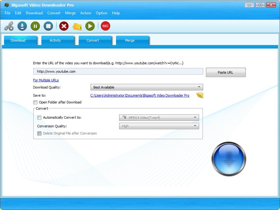 [PORTABLE] Bigasoft Video Downloader Pro 3.21.0.7269 Portable - ENG