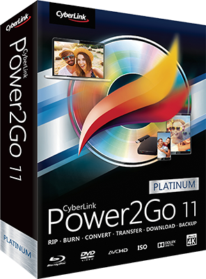CyberLink Power2Go Platinum v11.0.1202.0 DOWNLOAD ITA