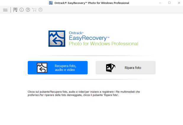 Ontrack EasyRecovery Photo for Windows Professional v13.0.0.0 Preattivato - ITA