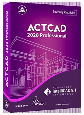 ActCAD Professional 2020 v9.2.710 x64 - ITA