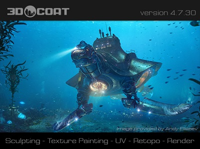 3D-Coat v4.8.15D 64 Bit - Eng