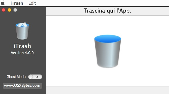 [MAC] OSXBytes iTrash 4.2.2 MacOSX - ITA