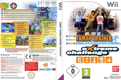 [WII] Family Trainer: Extreme Challenge (2009) - ITA