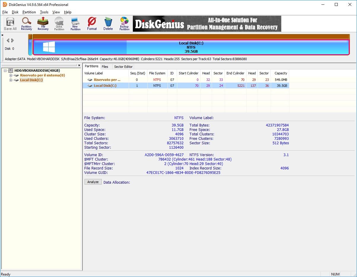 [PORTABLE] DiskGenius Professional v5.2.0.884   - Eng