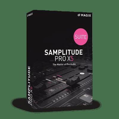 MAGIX Samplitude Pro X5 Suite v16.1.0.208 64 Bit - Ita