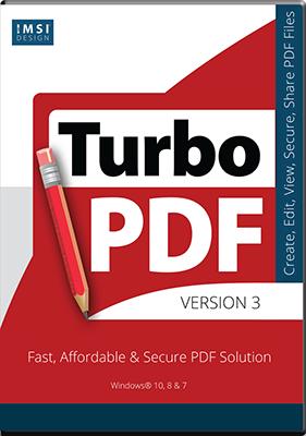 IMSI TurboPDF v9.0.1.1049 - Ita