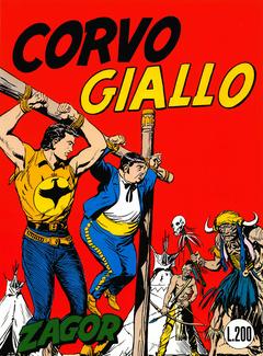 Zenit Gigante 055 - Zagor 004 - Corvo Giallo (1965)
