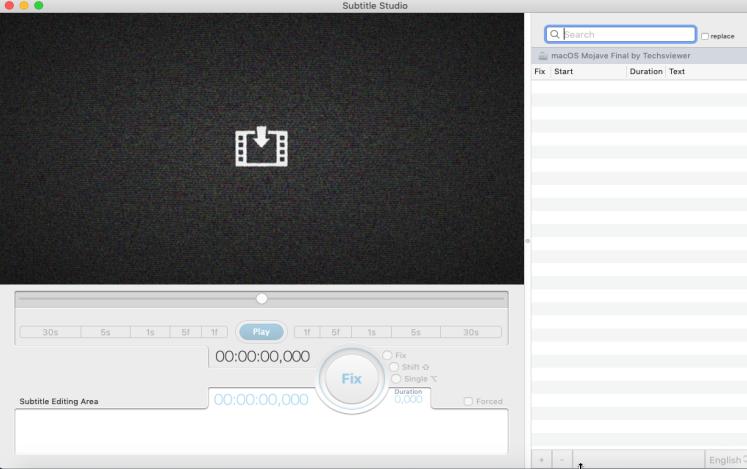[MAC] Subtitle Studio 1.2.6 macOS - ENG