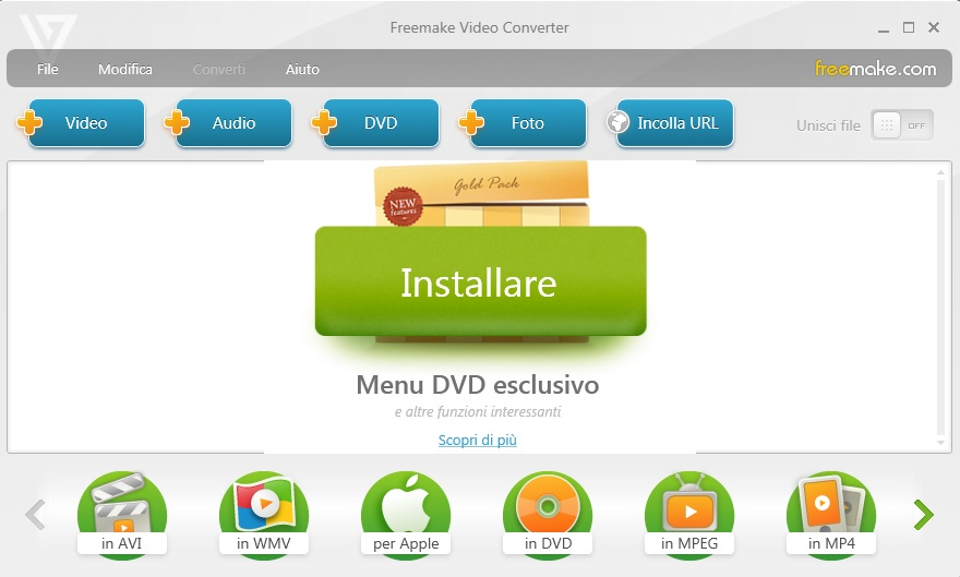Freemake Video Converter 4.1.11.4 - ITA