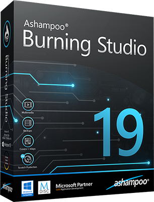 Ashampoo Burning Studio v19.0.2.6 - Ita
