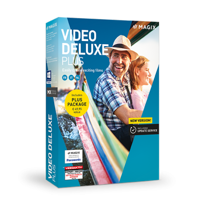 MAGIX Video deluxe Plus 2019 v18.0.1.204 64 Bit - Ita