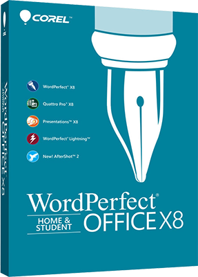 Corel WordPerfect Office X8 Home & Student v18.0.0.200 - ENG