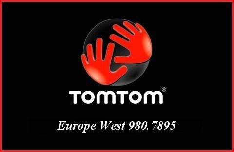 Tom Tom Europe West 980.7895