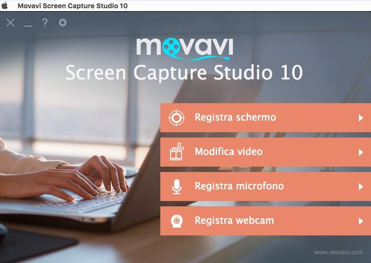 [MAC] Movavi Screen Capture Studio v10.0.1 MacOSX - ITA