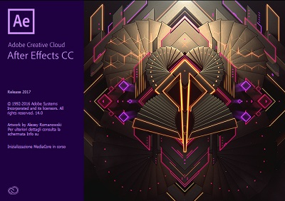 Adobe After Effects CC 2017.1 v14.1.0.57 DOWNLOAD MAC ITA