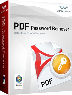 Wondershare PDF Password Remover v1.5.2.3 - Eng