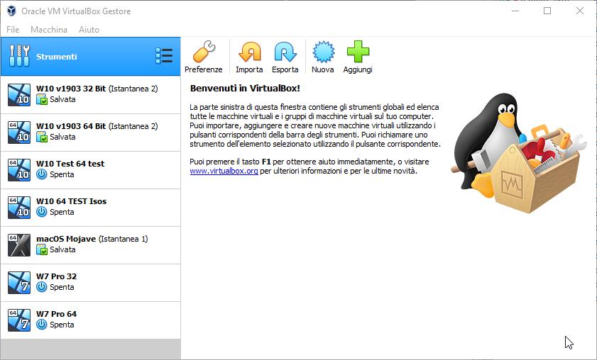 [PORTABLE] VirtualBox 6.1.4 Build 136177 con Extension Pack Portable - ITA