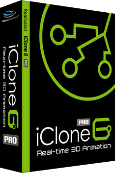 Reallusion iClone Pro v6.41.2623.1 64 Bit + Resource Pack - Eng