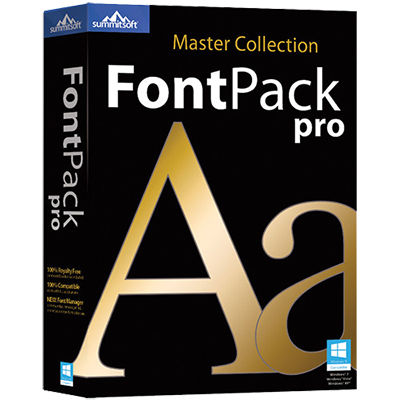 Summitsoft FontPack Pro Master Collection 2015 Sp1 DOWNLOAD ENG