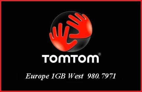 Tom Tom Europe 1GB West 980.7971