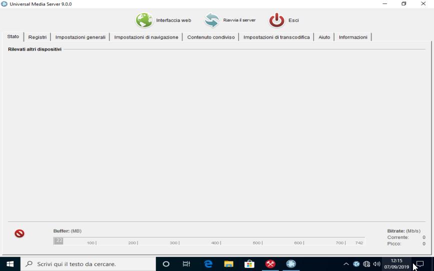 Universal Media Server 9.3.1 - ITA