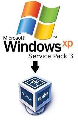 Microsoft Windows XP Professional SP3 VM per VirtualBox - ITA