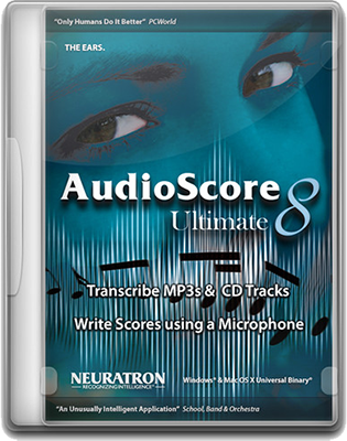 Neuratron AudioScore Ultimate 2018.8 v8.9.6 64 Bit - Eng