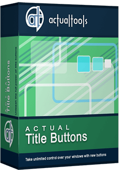 Actual Title Buttons v8.10.1 DOWNLOAD PORTABLE ITA
