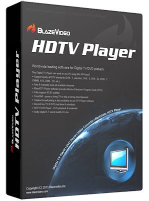BlazeVideo HDTV Player Professional v6.6.0.4 - Ita