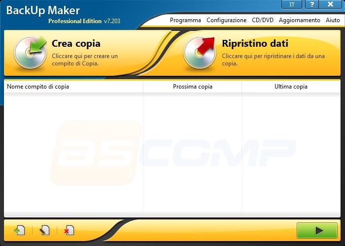 BackUp Maker Professional v7.406 Preattivato - ITA