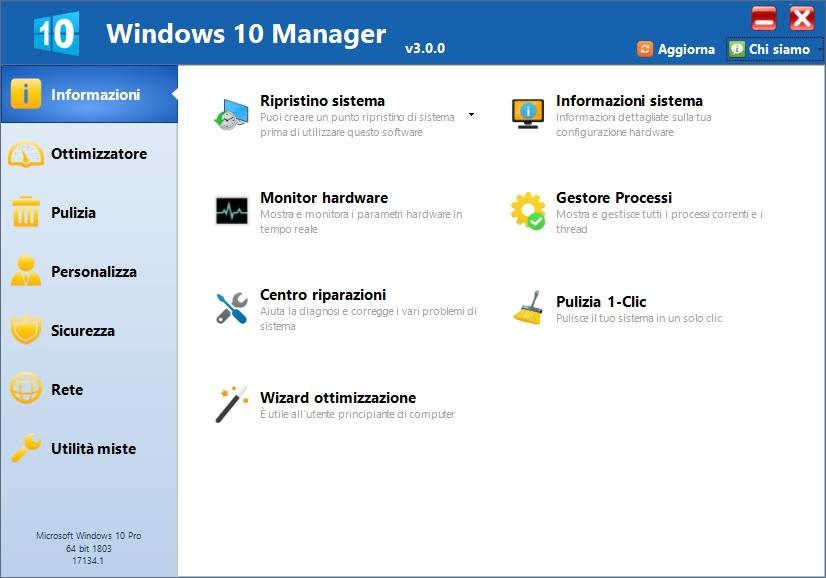 Yamicsoft Windows 10 Manager v3.5.5 - ITA