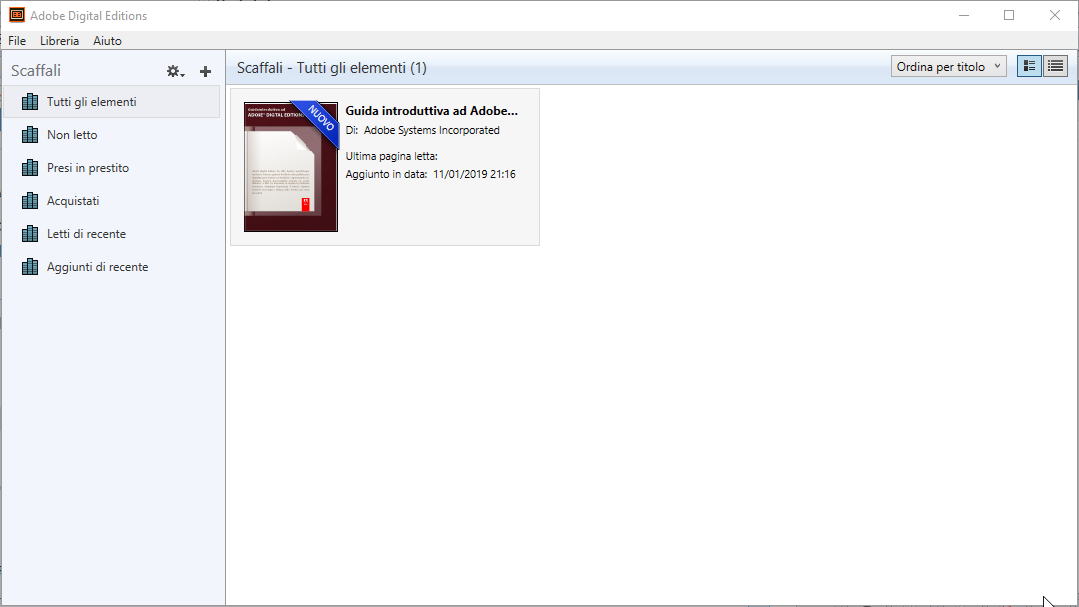Adobe Digital Editions 4.5.11 - ITA