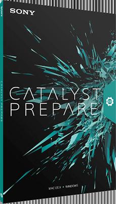 Sony Catalyst Prepare 2015.1.1.171 64 Bit - Eng