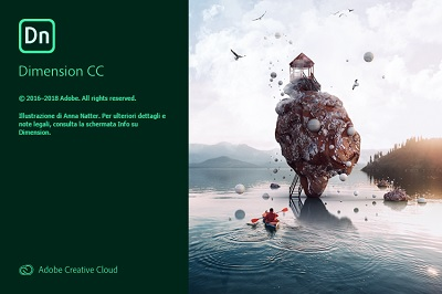 Adobe Dimension CC 2019 v2.2.1.819 64 Bit - ITA
