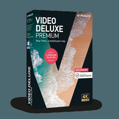 MAGIX Video deluxe Premium 2020 v19.0.2.49 64 Bit - ITA