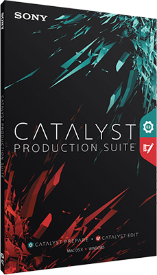 Sony Catalyst Production Suite 2018.1 64 Bit - Eng