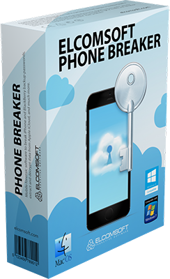 Elcomsoft Phone Breaker Forensic Edition v9.30.34962 - ENG
