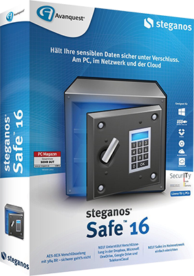 Steganos Safe v16.1.0 Revision 11148 - Eng