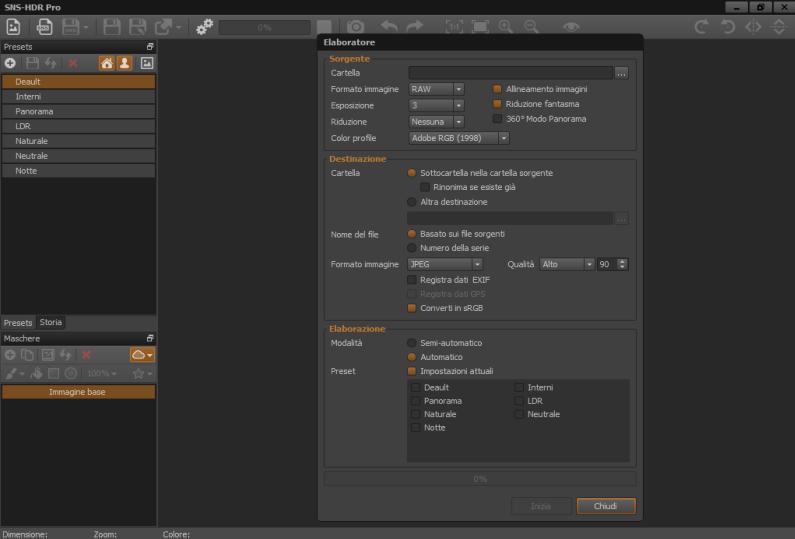 SNS-HDR Professional 2.7.2.1 x64 - ITA